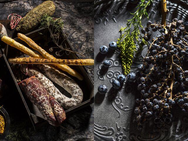 Фотосъемка композиции колбасных изделий для Сезон Охоты