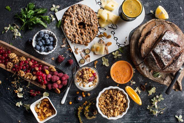 Фотосъемка композиции для здорового питания. Фуд стилист и фотограф Слава Поздняков