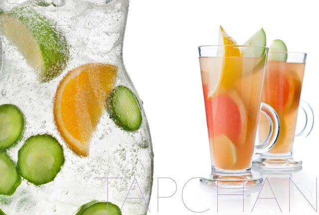 Фотосъемка лимонадов для ресторана ТАПЧАН