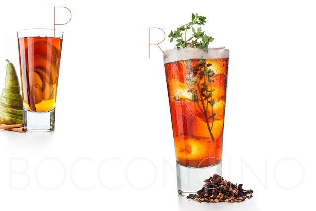 Фотосъемка напитков для ресторана  Bocconcino