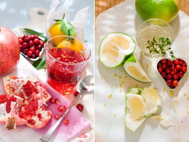 Фотосъемка напитков для журнала Хлеб Соль. Food стилист Слава Поздняков