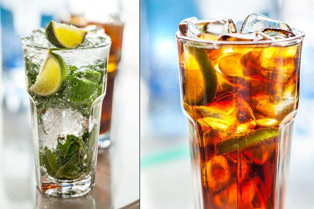 Рекламная фотосъемка напитков для ресторана Шоколадница
