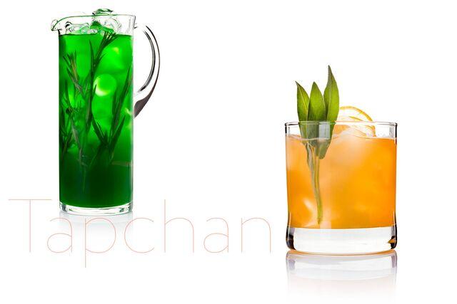 Фотосъемка освежающих напитков для ресторана Тапчан