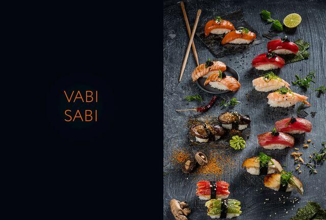 Фотосъемка меню для ресторана «Ваби Саби». Фуд-стилист и фотограф Слава Поздняков | Slava Pozdnyakov