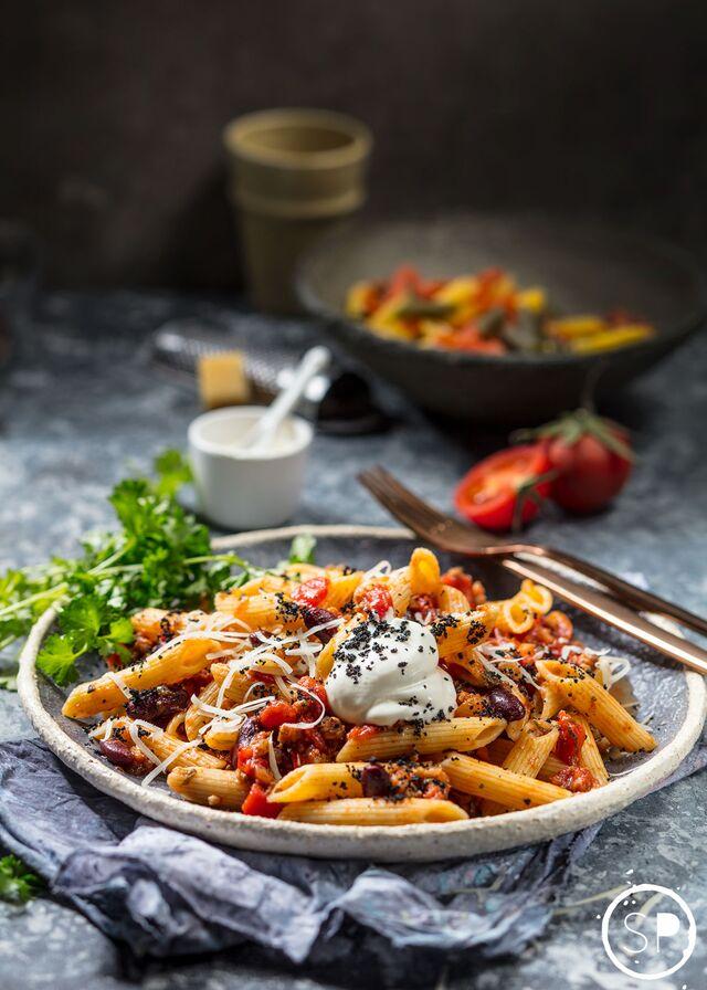 Пенне - Фотосъемка еды для Traveler's Сoffee. Фуд-стилист и фотограф Слава Поздняков