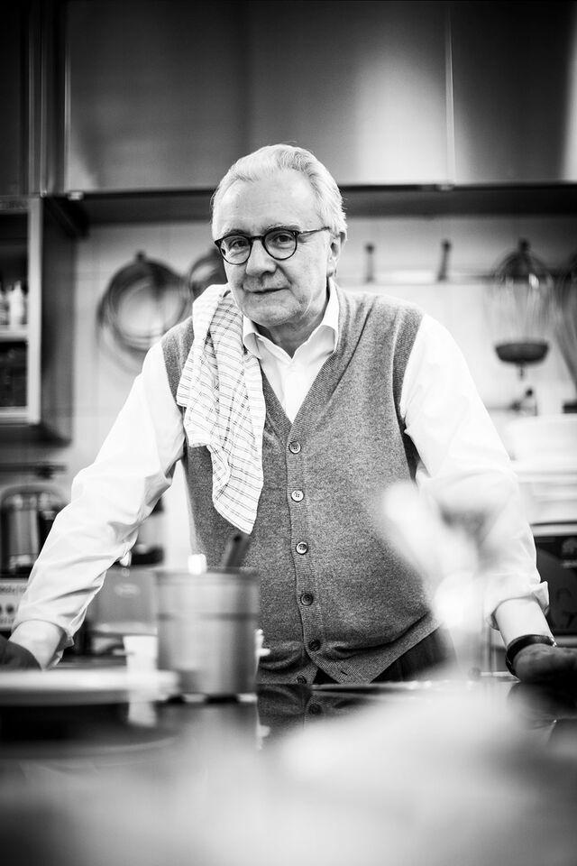 Аллен Дюкасс - Французский повар, ресторатор. Портретная фотосъемка в интерьере
