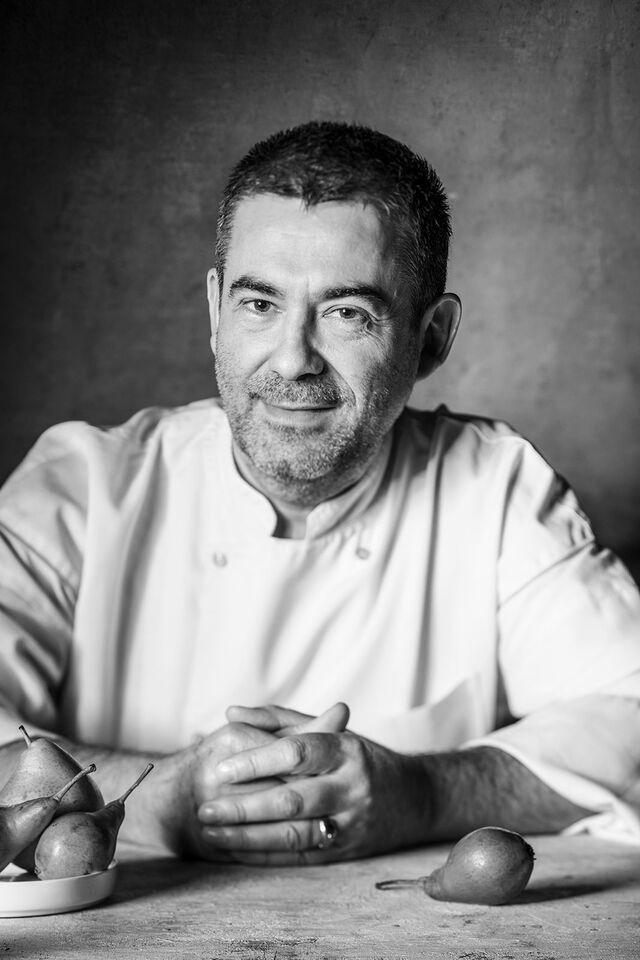 Фотосъемка портрета шеф-повара Патрис Тережоль