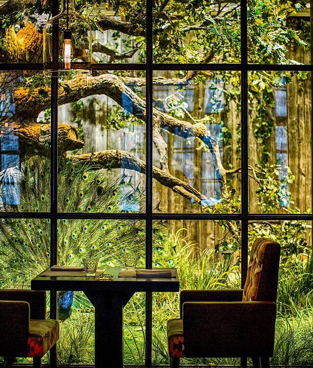 Фотосъемка интерьера ресторана Шинок. Фотограф Слава Поздняков.
