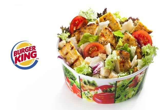 Рекламная фотосъемка салата для Burger King. Рекламный фотограф Слава Поздняков