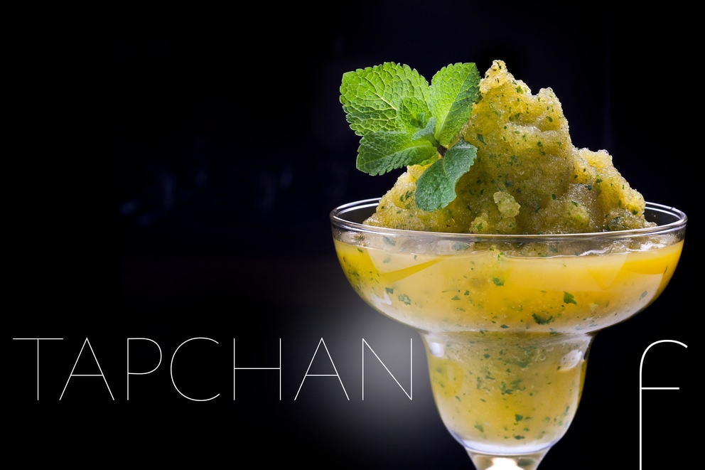 Фотосъемка смузи для ресторана ТАПЧАН