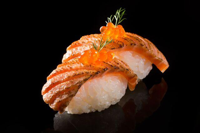 Рекламная фотосъемка суши. «Арт-Фуд». Фотосъемка японской кухни