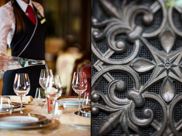 Фотосъемка в интерьере ресторана «Пьяцца Росса» гостиницы «Националь»