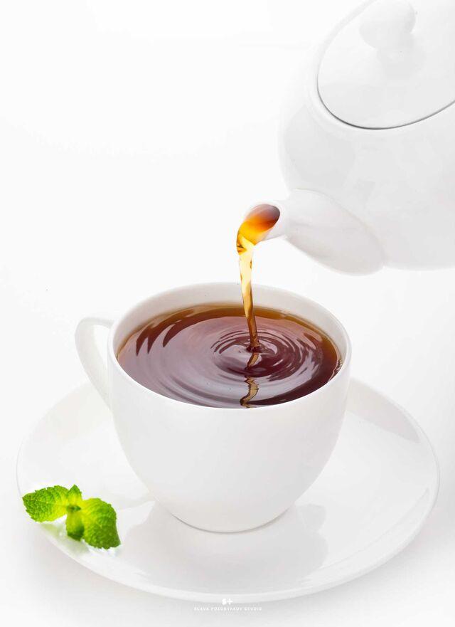 Фотосъемка чая, напитков, коктейлей. Фуд-стилист, фуд-фотограф Слава Поздняков.