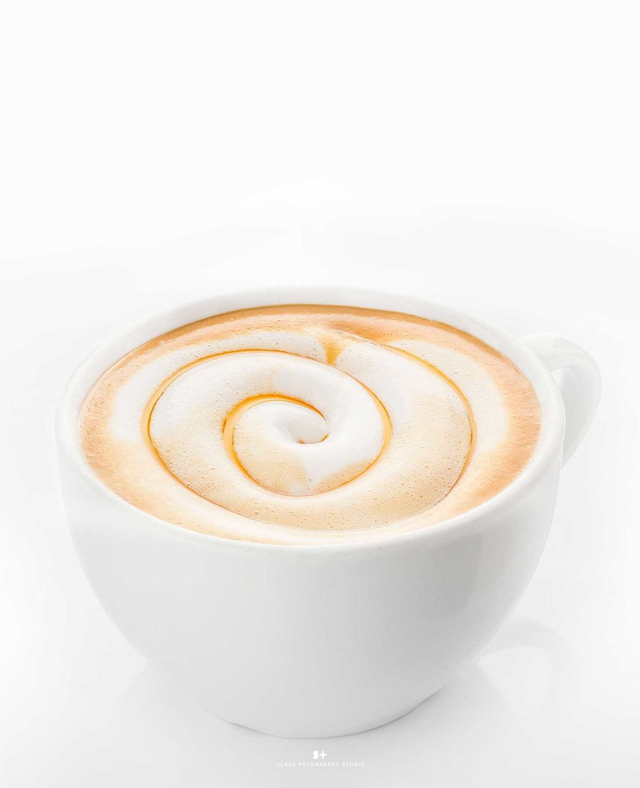 Фотосъемка капучино. Фотосъемка кофе. Фотосъемка напитков. Фуд-стилист, фотограф Слава Поздняков.