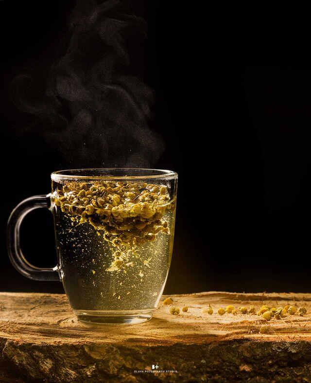 Фотосъемка чая. Фотосъемка напитков, коктейлей. Фуд-стилист, фуд-фотограф Слава Поздняков.