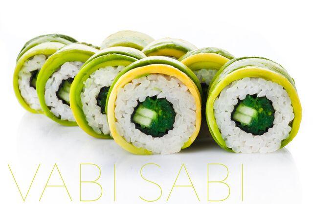 Фотосъемка роллов для меню ресторана Ваби Саби