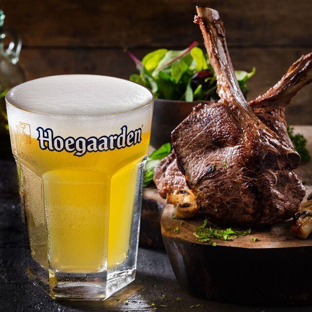 Hoegaarden. Фотосъемка пива для ABInBev. Приготовление блюд, фуд-стайлинг, компановка, фотосъемка композиции. Шеф-повар, фуд-стилист, фотограф Слава Поздняков.