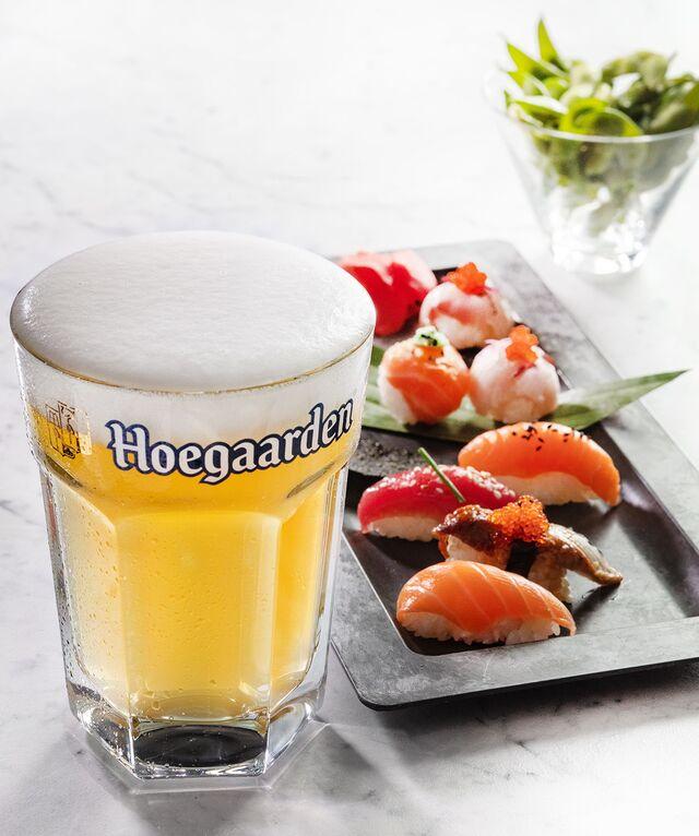 Hoegaarden. Фотосъемка пива для ABInBev. Приготовление блюд, фуд-стайлинг, компановка, фотосъемка. Шеф-повар, фуд-стилист, фотограф Слава Поздняков.