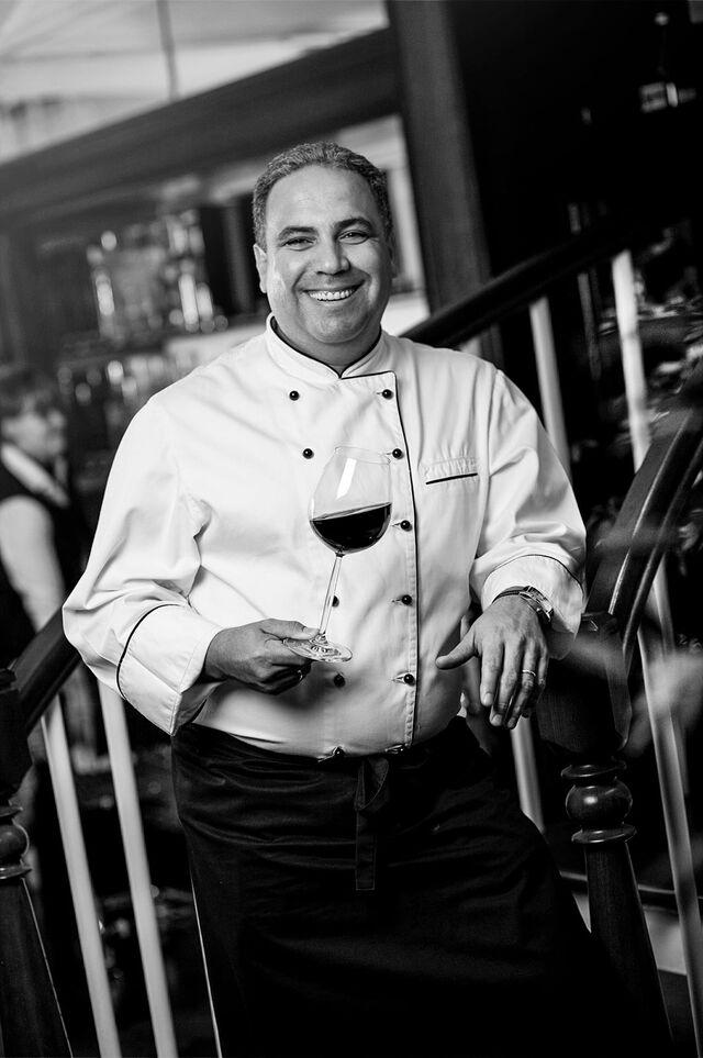 Фотосъемка портрета шеф-повара Хорхе Севилья для Глобус Гурме