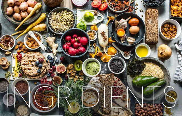 Постановочная фотосъемка ингредиентов для приготовления блюд, фуд-стайлинг, специи. Фуд фотограф Слава Поздняков
