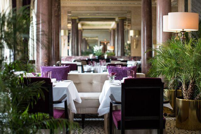 Фотосъемка деталей ресторана «Метрополь»