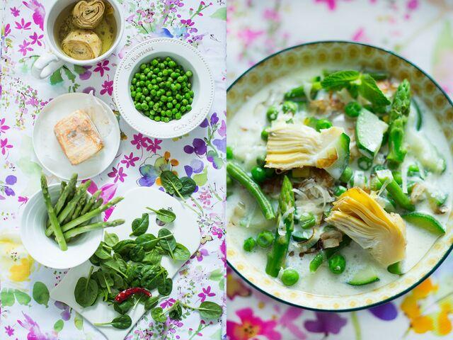 Приготовление, постановка, фотосъемка блюд для журнала
