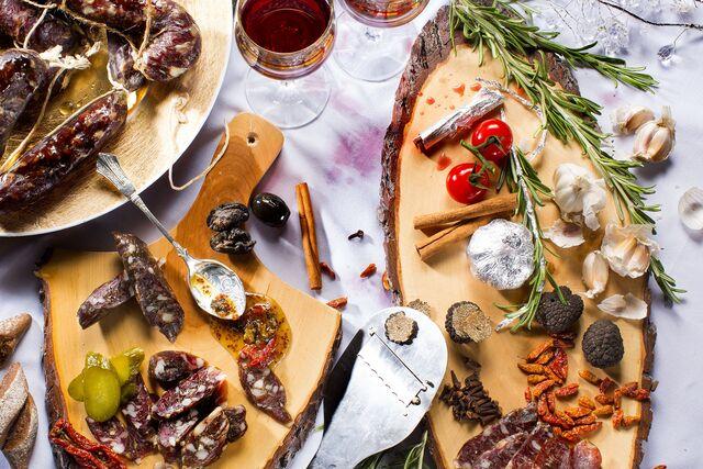 """Фотосъемка новогодних закусок для """"Ресторанный Синдикат"""". Food Hunter Magazine. Фуд-стилист и фотограф Слава Поздняков"""