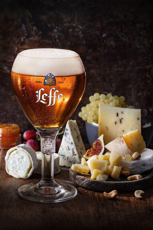 LEFFE. Фотосъемка пива для ABInBev. Приготовление блюд, фуд-стайлинг, компоновка, фотосъемка. Шеф-повар, фуд-стилист, фотограф Слава Поздняков.