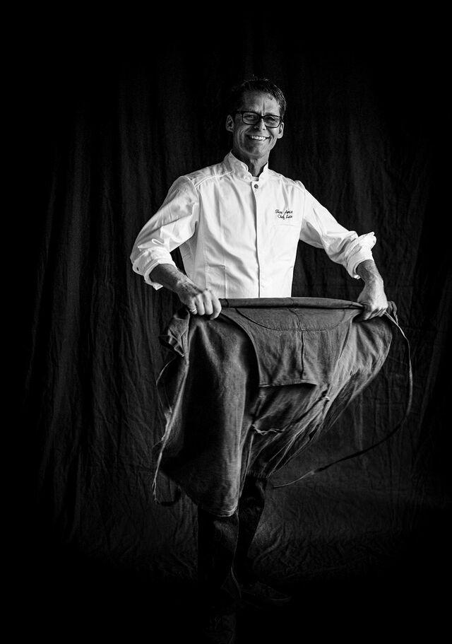 Фотосъемка портрета Leon Ek для журанала. Фотограф Слава Поздняков