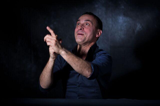 Фотосъемка портрета шеф Massimiliano Monteroli. Фотограф Слава Поздняков