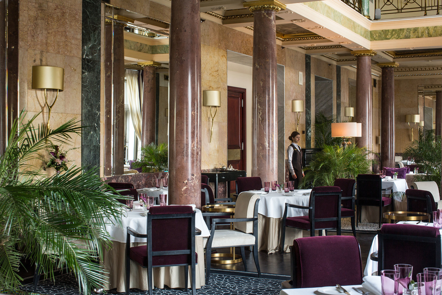 Фотосъемка зала ресторана «Метрополь»