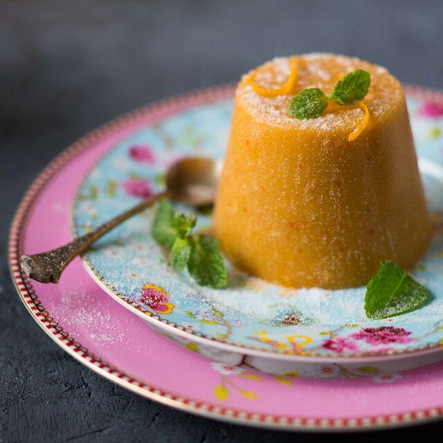 Фотосъемка блюд, десертов для Bonduelle. Морковный пудинг. Фуд фотограф Слава Поздняков