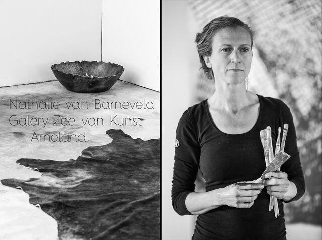 Портрет в студии художника Nathalie van Barneveld. Photographer Slava Pozdnyakov