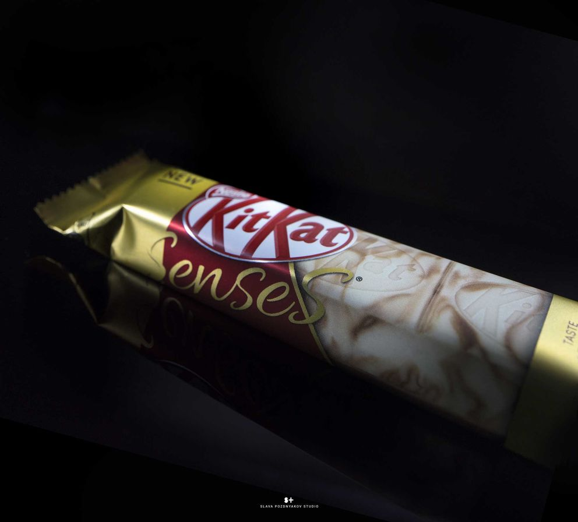 Фотосъемка шоколада Kit Kat. Nestle. Фуд-стайлинг, компоновка, фотосъемка шоколада. Фуд-стилист, фотограф Слава Поздняков.