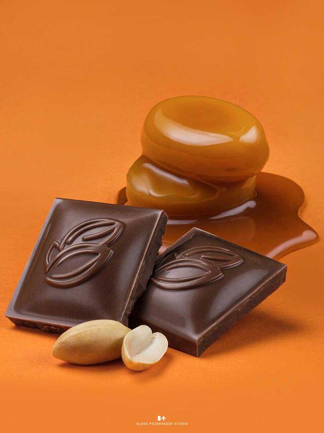 Фотосъемка шоколада Россия-Щедрая Душа! Nestle. Фотосъемка на упаковку. Фуд-стайлинг, компоновка, фотосъемка шоколада. Фуд-стилист, фотограф Слава Поздняков.