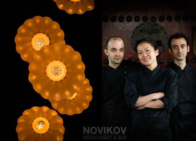 Фотосъемка портретов Шеф-поваров для ресторана Novikov