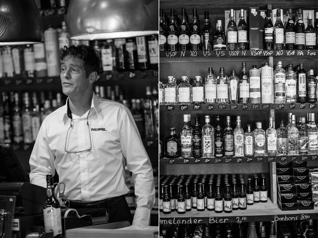 Портрет в интерьере барной зоны. Фотограф Слава Поздняков