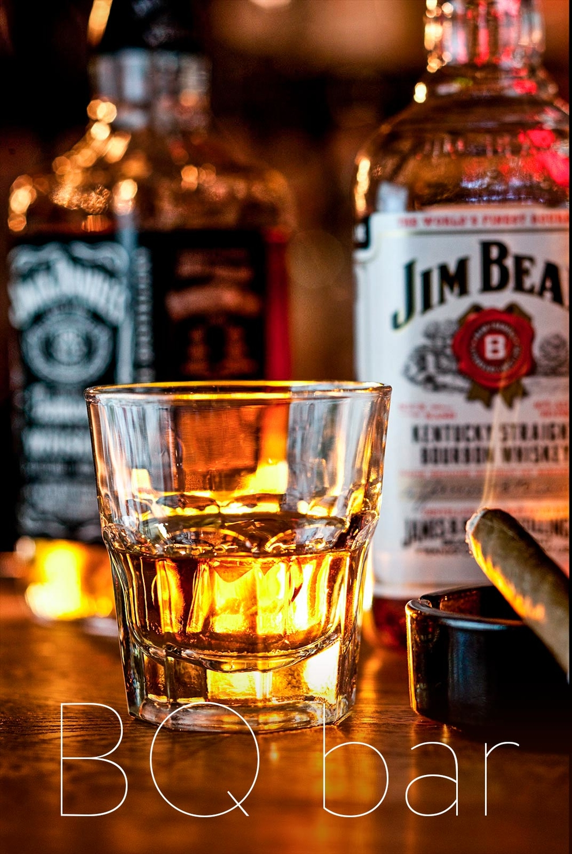 Постановочная фотосъемка напитков для BQ_BAR