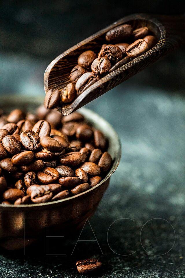 Рекламная фотосъемка обжаренного кофе BOLD «Tea Co»