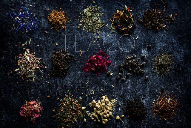 Фотосъемка различных видов чая «Tea Co»