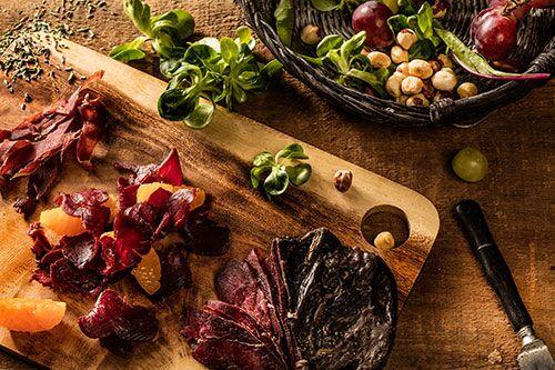 Фотосъемка мясных и колбасных деликатесов для каталога продукции ПРОДО
