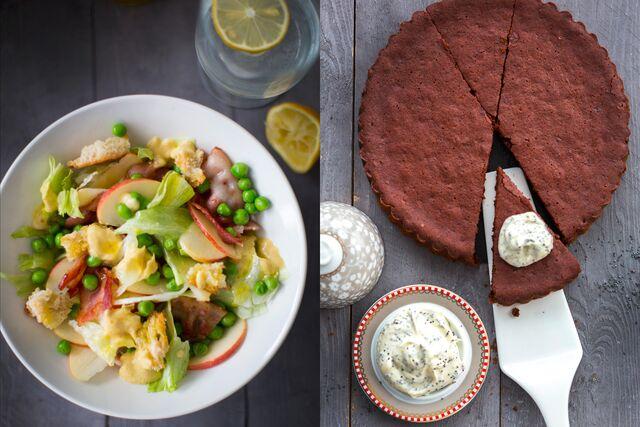 Приготовление блюд, стилистика оформления, фотосъемка блюд для журнала Хлеб Соль