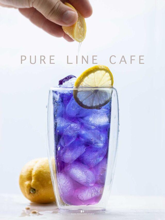 Фуд-стайлинг, компоновка, фотосъемка напитков для кафе ЧИСТАЯ ЛИНИЯ. Фуд-стилист, фотограф Слава Поздняков.