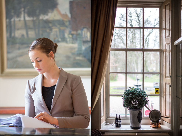 Фотосъемка сотрудников отеля. Hotel de Klinze