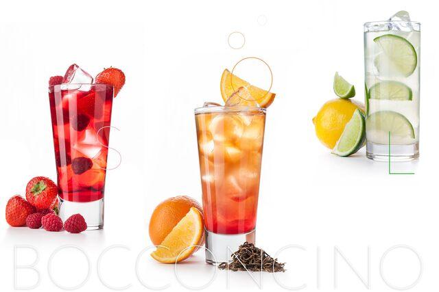 Рекламная фотосъемка напитков для ресторана Bocconcino. Фуд-фотограф Слава Поздняков