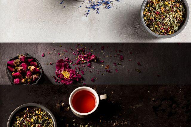 Рекламная фотосъемка чая «Tea Co». Food фотограф Слава Поздняков