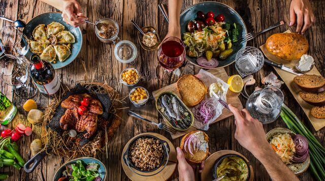 Рекламная фотосъемка блюд для ресторана Шинок. Фуд-фотограф Слава Поздняков