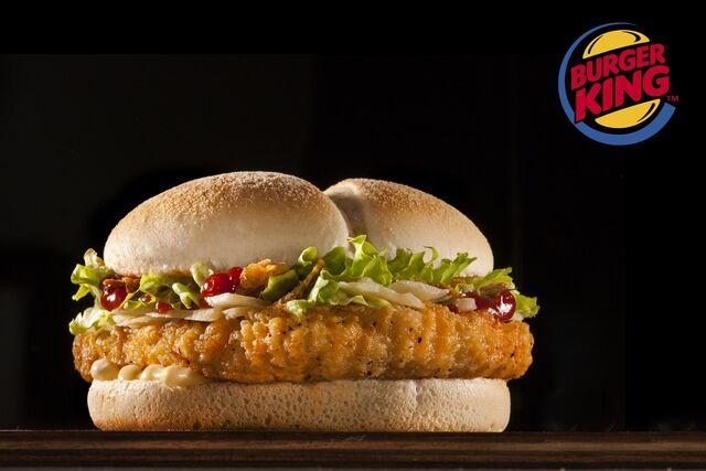 Рекламная фотосъемка бургера для Burger King