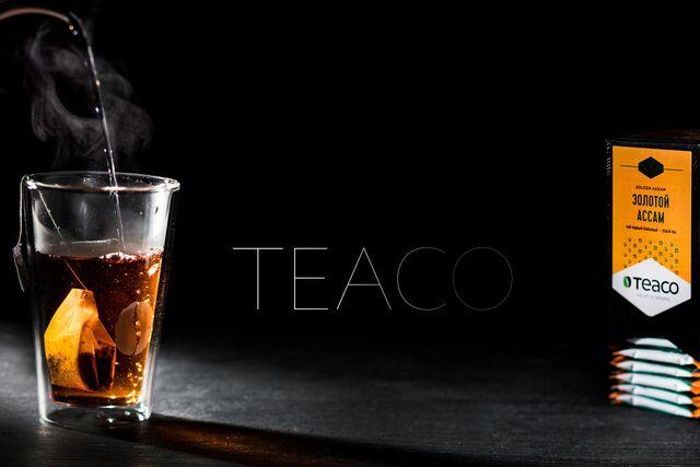 Рекламная фотосъемка чая в пакетиках «Tea Co»