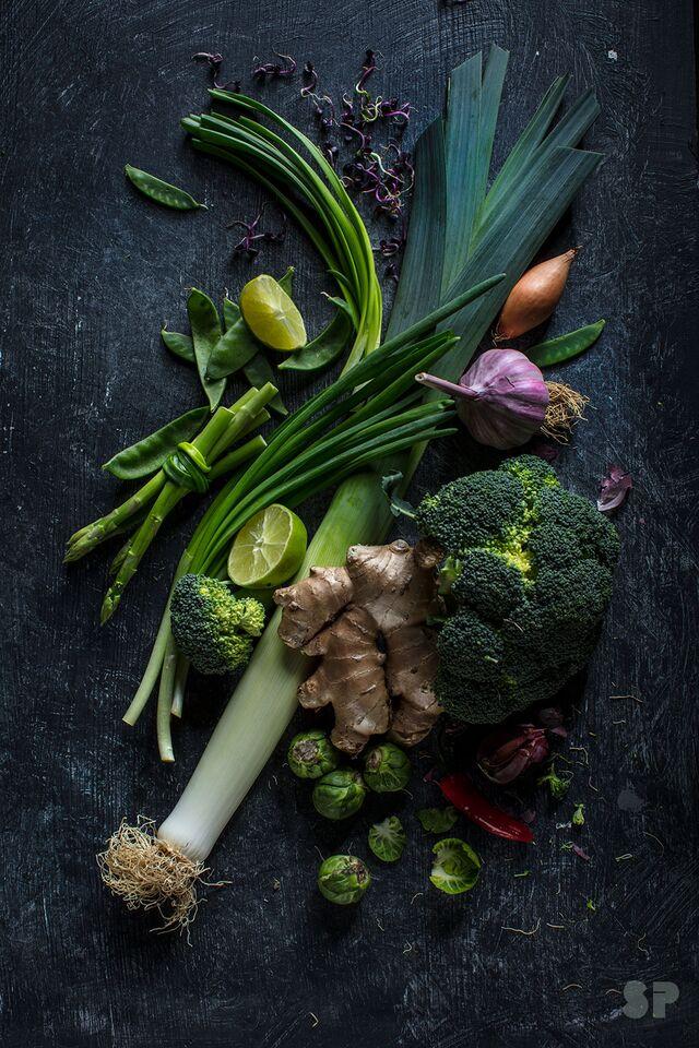Рекламная фотосъемка овощей для гипермаркета. Фуд-фотограф Слава Поздняков